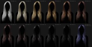 Melanin Hair Shader