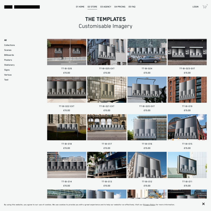 THE TEMPLATES — Store