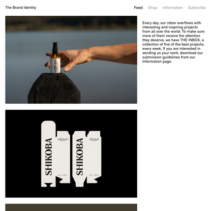 THE INBOX: Five new projects including Shikoba Therapies by STUDIO WORK — The Brand Identity