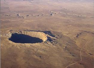 Meteor Crater, AZ (50kya)
