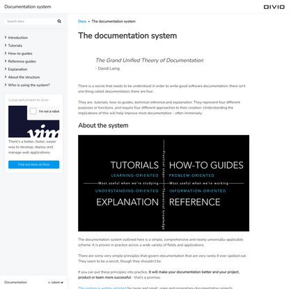 A framework for better documentation
