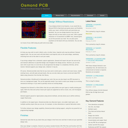Osmond PCB Home