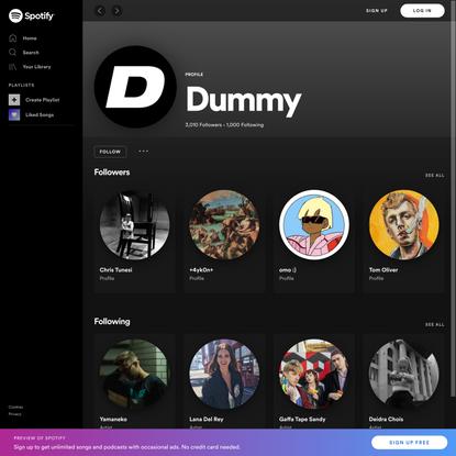 Spotify – Web Player