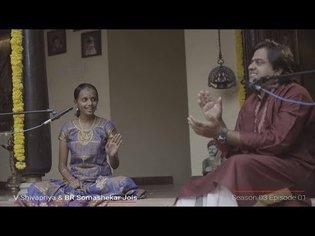 V Shivapriya & BR Somashekar Jois | Konnakol Duet | MadRasana Unplugged Season 03 Episode 01