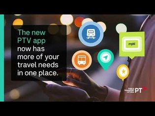 Explore the new PTV app