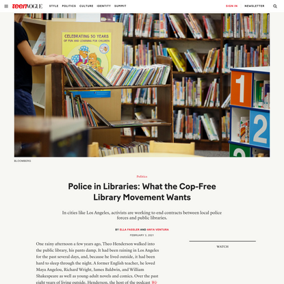 Public Libraries Have a Policing Problem