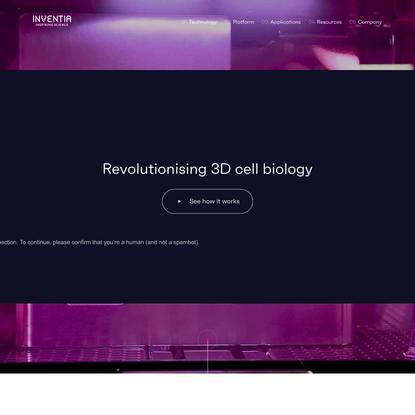 Revolutionising 3D cell biology