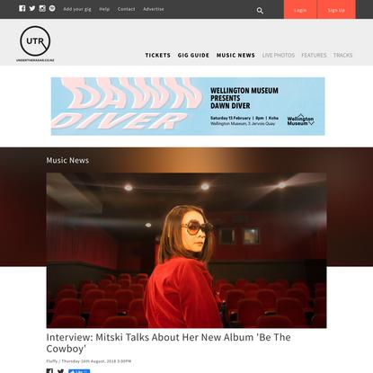 Interview: Mitski Talks About Her New Album 'Be The Cowboy'