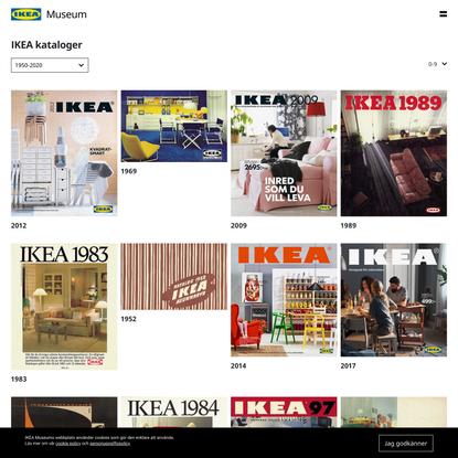 Svenska IKEA kataloger | IKEA Museum