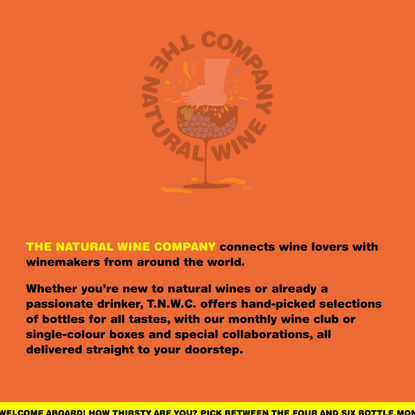 T.N.W.C. - The Natural Wine Company connects wine lovers with winemakers from around the world