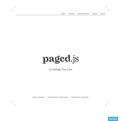 Paged.js — Paged.js