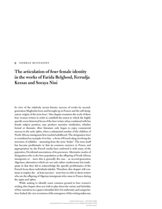[9781526137999-women-s-writing-in-contemporary-france]-the-articulation-of-beur-female-identity-in-the-works-of-farida-belgh...