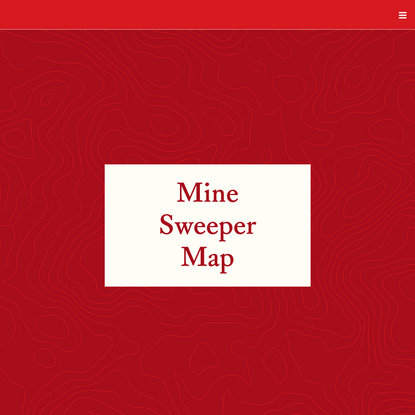 Mine Sweeper Map - Land Back: A Yellowhead Institute Red Paper