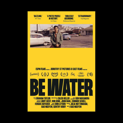 """Rice on Instagram: """"Inspired by @brucelee's story—as portrayed through the lens of director @baomnguyen in the film """"Be Wate..."""