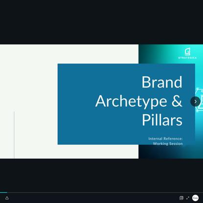 Brand Archetype Framework