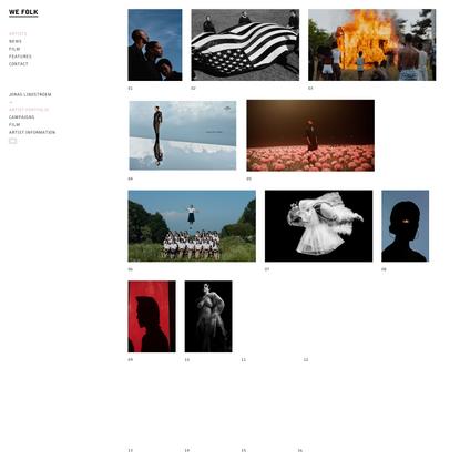 Artist Portfolio – Jonas Lindstroem - We Folk