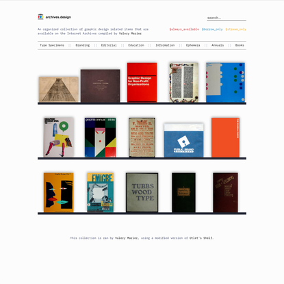 archives.design