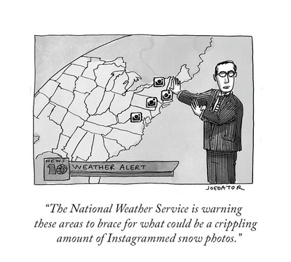 """The New Yorker on Instagram: """"Coming soon to a feed near you. #NewYorkerCartoons 🖋 @joedator"""""""