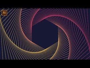 Geometric Line Art Tutorial | Adobe Illustrator