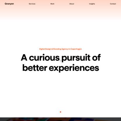Granyon – Digital design and branding agency