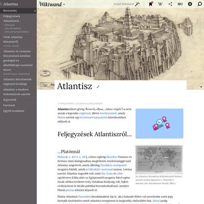 Atlantisz | Wikiwand