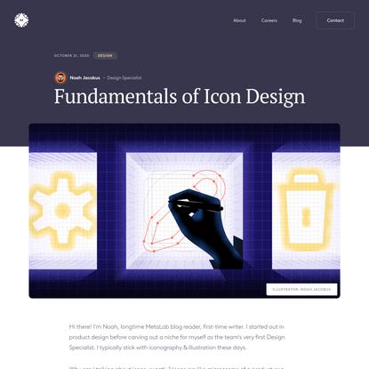 Fundamentals of Icon Design
