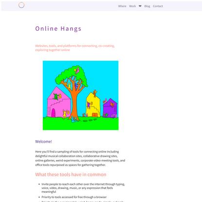 Online Hangs