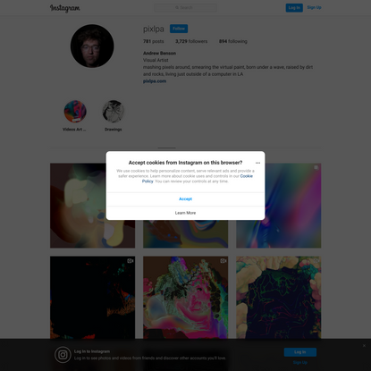 Andrew Benson (@pixlpa) • Instagram photos and videos