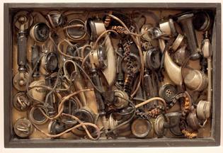 "Arman, ""Busy"", 1960"