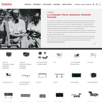 Le Corbusier, Pierre Jeanneret, Charlotte Perriand