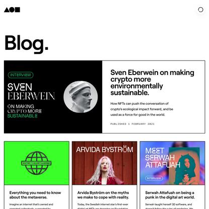 Blog | Foundation