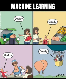 And that's how machine learning works
