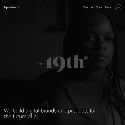 Upstatement   A digital brand and product design studio