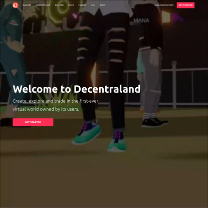 Welcome to Decentraland