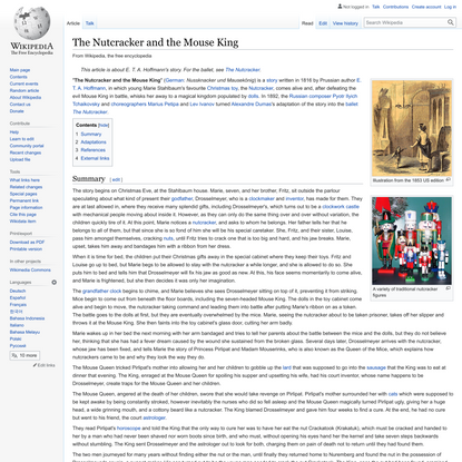 The Nutcracker and the Mouse King - Wikipedia