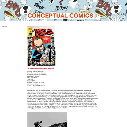 UbuWeb - Conceptual Comics