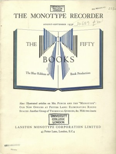 Monotype Recorder Volume 29 No. 237