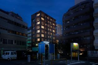 Akasana Brick Residence, Tokyo (designed by Kino Architects, 2014)