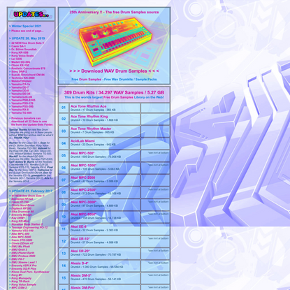 ...KB6.de... Samples, Drumsamples / Electronic Drum Kits / Free download / Bass Drum...