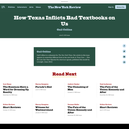 How Texas Inflicts Bad Textbooks on Us
