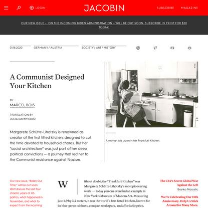 A Communist Designed Your Kitchen