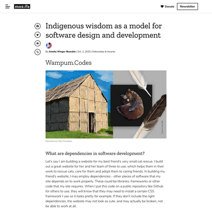 Mozilla Foundation - Indigenous wisdom as a model for software design and development