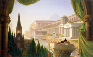 The Architect's Dream, 1840 by Thomas Cole