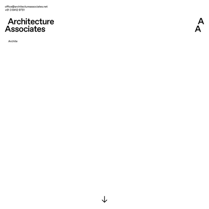 Home | Architecture Associates