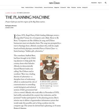 The Planning Machine