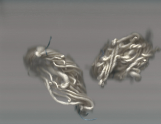 yarn ( natural spun wool )
