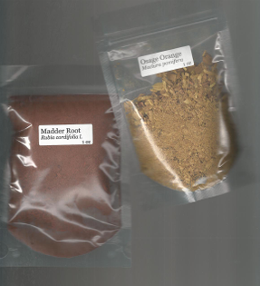 madder root and osage orange
