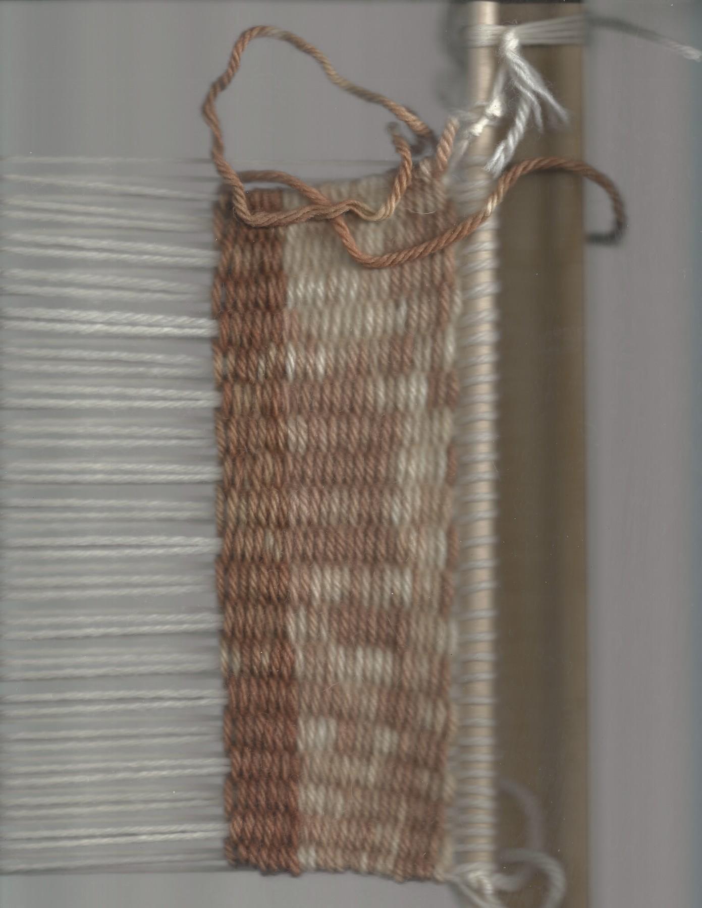 preliminary weave