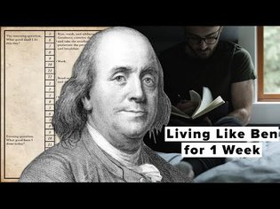 I Tried Ben Franklin's Daily Schedule For a Week: Here's What Happened