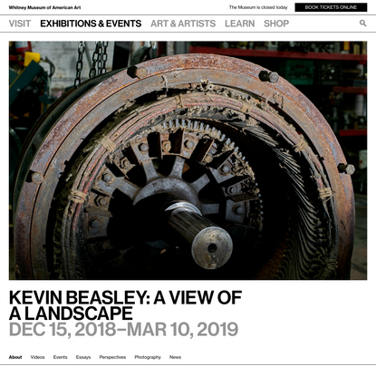 Kevin Beasley: A view of a landscape